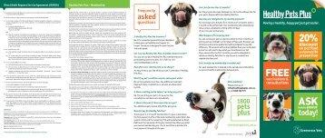 Canine Brochure - Greencross Vets