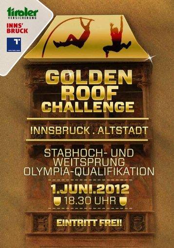 Broschüre - Golden Roof Challenge