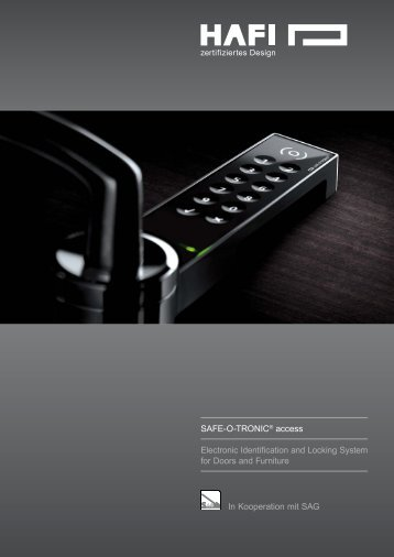 In Kooperation mit SAG SAFE-O-TRONIC® access ... - hafi.de
