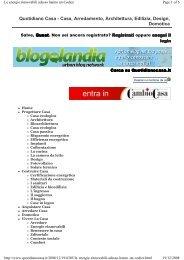 Quotidiano Casa - Casa, Arredamento, Architettura, Edilizia, Design ...