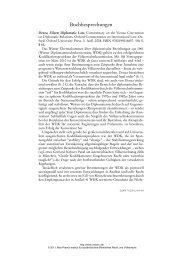 Buchbesprechungen - Zeitschrift für ausländisches öffentliches ...