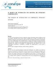 O design de interação em sistema de intranet corporativo Heitor ...