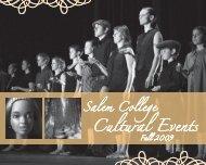 Cultural Events - Salem College