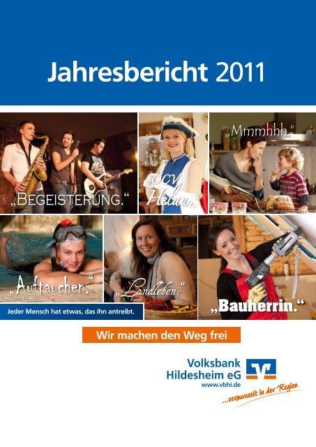Jahresbericht 2011 (PDF 3,4 MB) - Volksbank Hildesheim eG