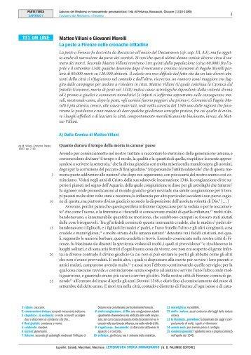 T31 ON LINE Matteo Villani e Giovanni Morelli La ... - Palumbo Editore