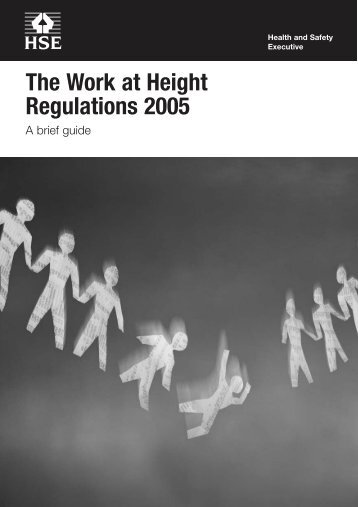 The Work at Height Regulations 2005: A Brief Guide - Staffcentral