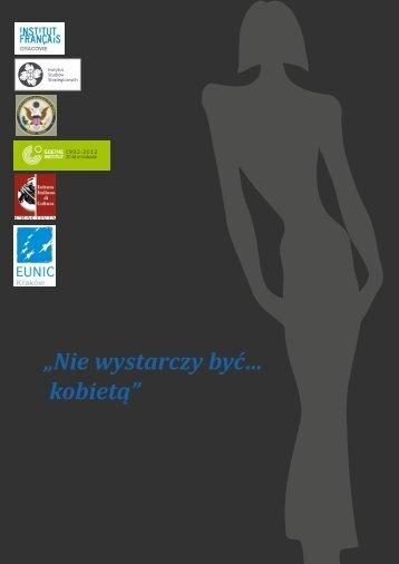 """""""Nie wystarczy być… kobietą"""" - Instytut Studiów Strategicznych"""