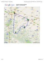 da Bologna a Bologna - Google Maps - SEF meccanotecnica