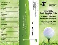 to download registration/sponsorship brochure - YMCA of Orange ...