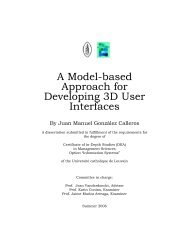 A Model-based Approach for Developing 3D User Interfaces - UsiXML
