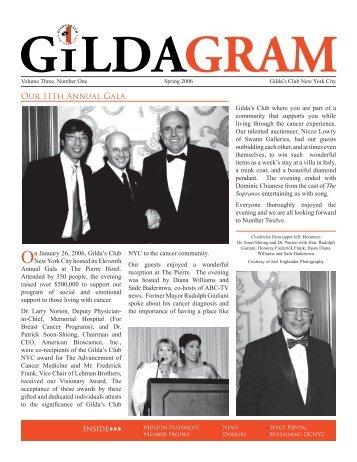Our 11th Annual Gala - Gilda's Club New York City
