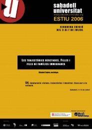 Ponència en format PDF (450 KB) - Sabadell Universitat