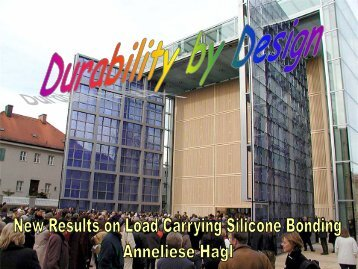 Durability by Design - a-hagl-ingenieure