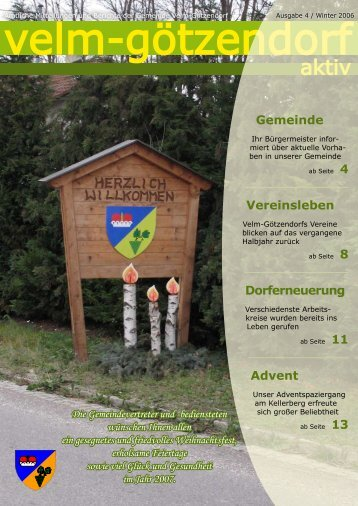 Ausgabe 4 - Velm-Götzendorf