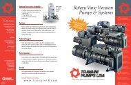 Rotary Vane Vacuum Pumps & Systems