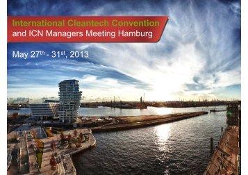 the agenda for the meeting - Copenhagen Cleantech Cluster