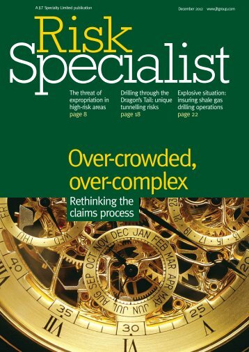 To download our previous edition of Risk Specialist in full ... - JLT