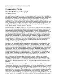 Informationsdienst Wissenschaft - Klaus J. Bade