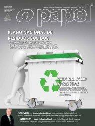 PLANO NACIONAL DE RESÍDUOS SÓLIDOS - Revista O Papel
