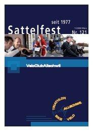 Sattelfest Nr. 121 seit 1977 - VC Allschwil