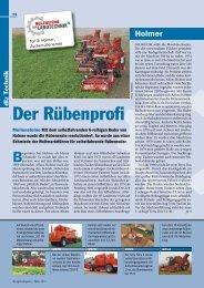 Der Rübenprofi - Holmer Maschinenbau GmbH