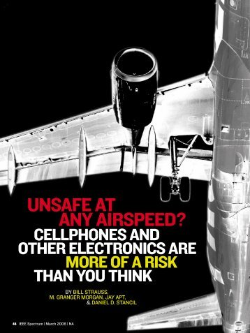 UNSAFE AT ANY AIRSPEED? - Carnegie Mellon University