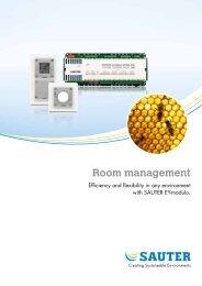 Room management - sauter-controls.com sauter-controls.com