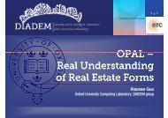 OPAL – Ontology-based web Pattern Analysis with Logic