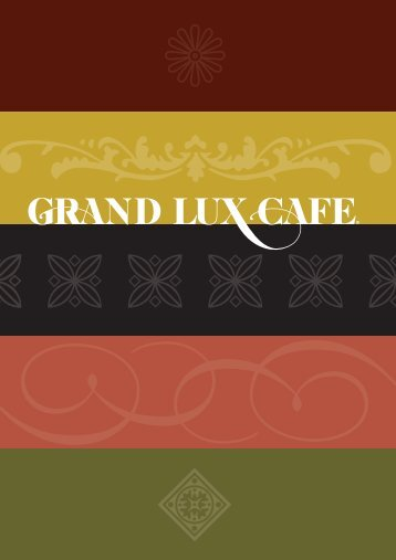 Welcome to Grand Lux Cafe - Venetian