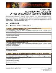 Chapitre 8 - MRC BROME-MISSISQUOI