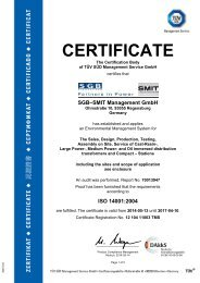 ISO 14001 main certifcate group (0.3 MB, PDF) - SMIT Transformers