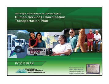 Human Services Coordination Transportation Plan - Maricopa ...