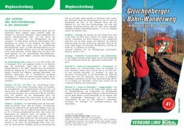 Gleichenberger Bahn-Wanderweg - Verkehrsverbund Steiermark