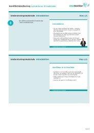 Undervisningsmateriale Introduktion Dias 1/5 ... - BAR - privat kontor.