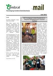 Vereinigung Cerebral Zentralschweiz Juni 2012