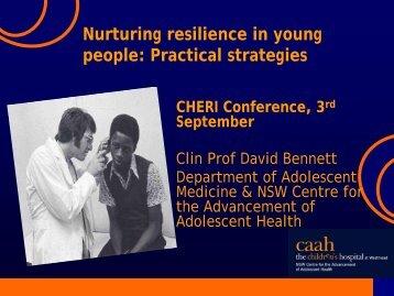 Nurturing Resilience in Young People: Practical Strategies - CHERI