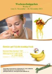 Wochenschnäppchen 47 neu - Gourmador Zollikofen