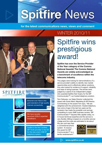 For The Latest Communications News, Views And Comment - Spitfire