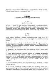 Na podlagi osmega odstavka 97.člena Zakona o ... - RIS