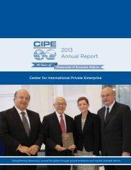 2013 CIPE Annual Report_0