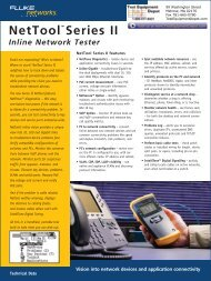 """NetToolâ""""¢ Series II Inline Network Tester - Test Equipment Depot"""