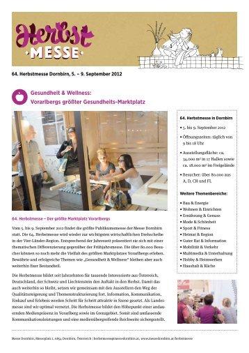 Gesundheit & Wellness: Vorarlbergs gr