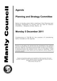 5 December 2011 - Manly Council - NSW Government