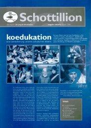 Schottillion Ausgabe Nr. 17 - Alt-Schotten
