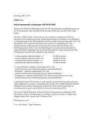 Förslag till interkommunala ersättningar för ISGR 2002 - GR Utbildning