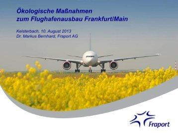 Ökologische Maßnahmen zum Flughafenausbau Frankfurt/Main