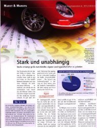Stark Und unabhängi - ALBIS HiTec Leasing AG