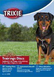 Anwendung der Trainings-Discs - Trixie