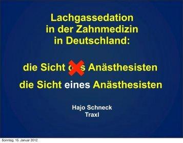 Vortrag von Prof. Schneck