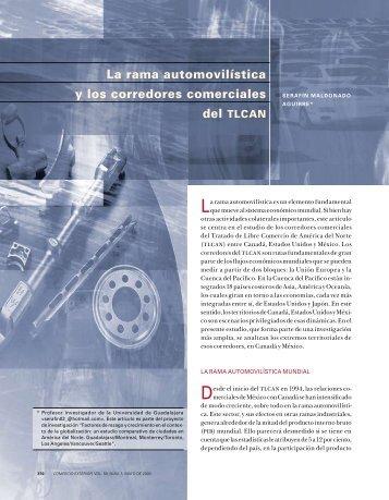 La rama automovilística y los corredores comerciales - revista de ...